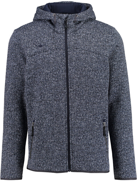 Kaikkialla Salomo Fleece Jacket Men Navy